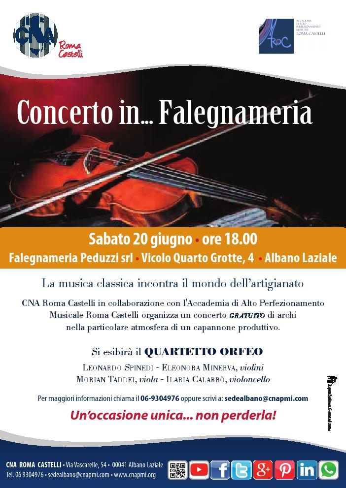 2015.06.20 Concerto in ... falegnameria