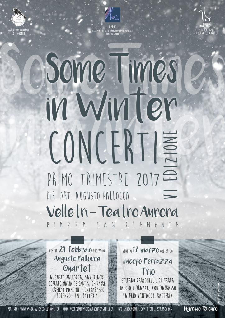 web Some Times in Winter - VI edizione