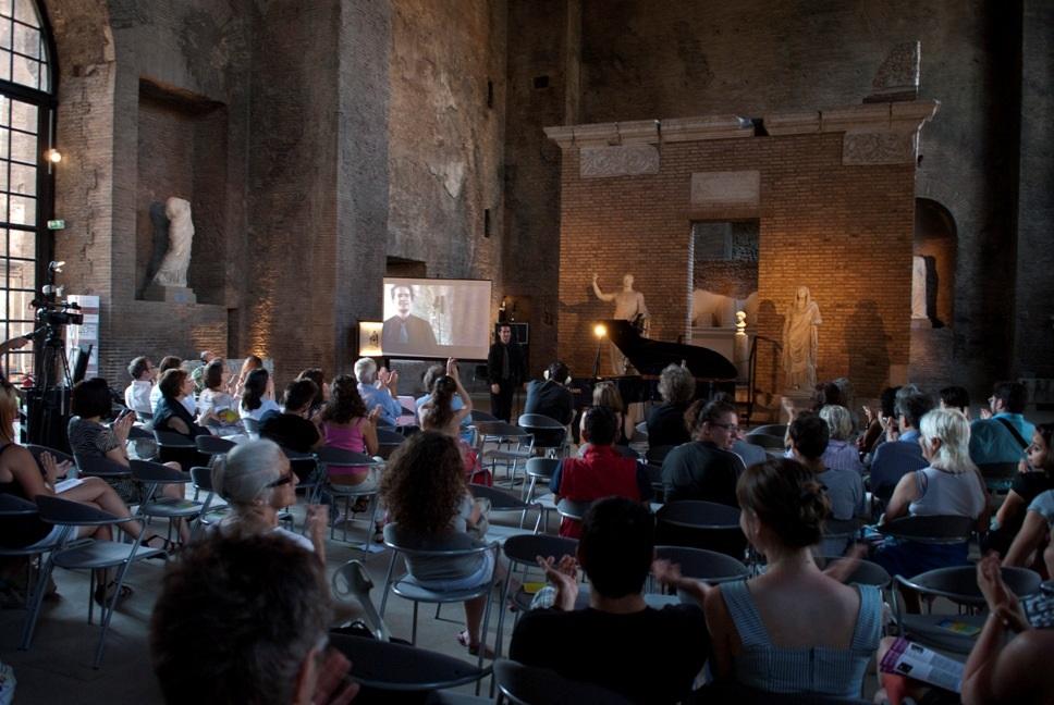 2011.06.21 ore 16,30 Roma, Museo Nazionale Romano - János Ludmány (Forty Fingers ITA-HUN)