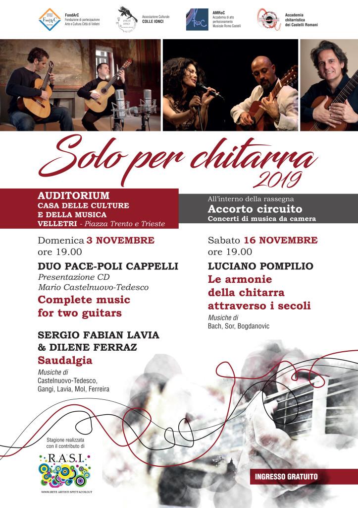 ACCORTO CIRCUITO - SOLO PER CHITARRA 2019 - ok
